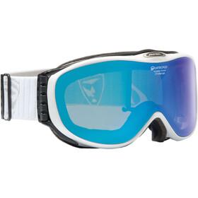 Alpina Challenge 2.0 Quattroflex Mirror S2 goggles blauw/wit